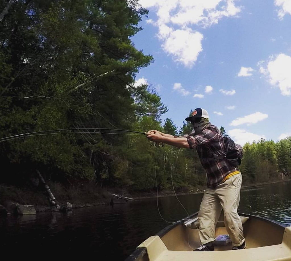 Fly Fishing Adirondacks Bass