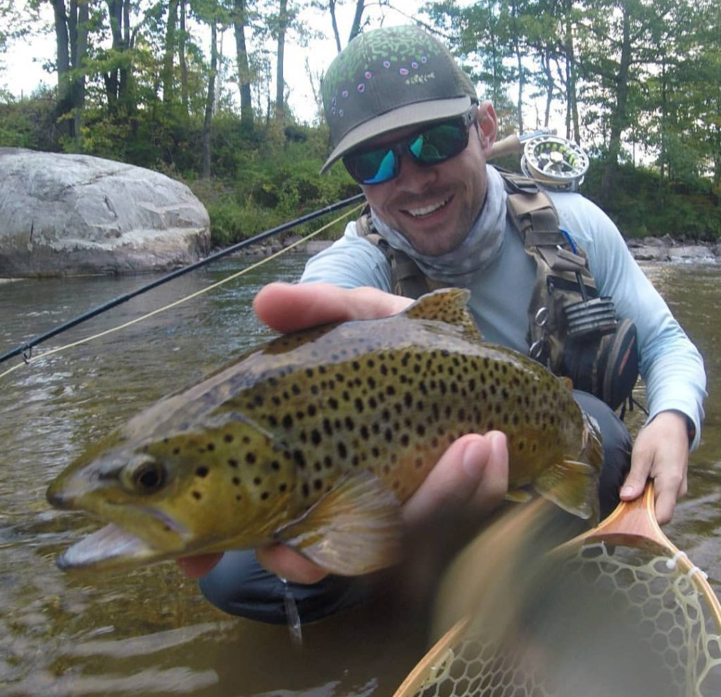 Fly Fishing, Brown Trout, fly fishing guides, vemont, new york,